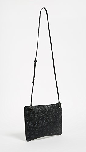 Medium Pouch Visetos Women's MCM Black BwgHRTnxq