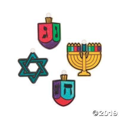 Seasonal Paint Your Own Suncatchers (Hannukah): Home & Kitchen