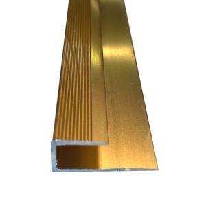 Amazon.com: Wood and Laminate Floor Edging - Square Edge Gold 900mm ...