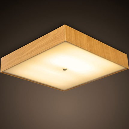 Blyc nordische minimalistischen eisen holz deckenleuchte for Deckenlampe schlafzimmer