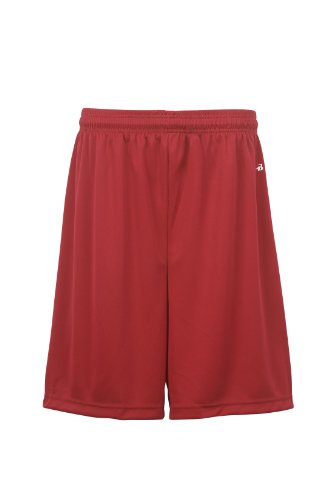 badger-sportswear-boys-b-dry-performance-short-red-large
