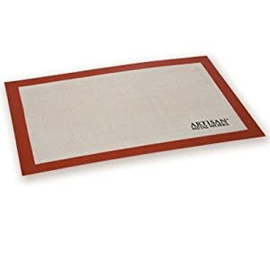 Artisan Non-Stick Silicone Baking Mat with Measurements - 2 Pack