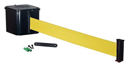 Retracta-Belt Wall Barrier, 15ft Yellow Belt - WM412SB15-YW-RE