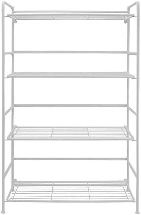 Editors' Choice: Flipshelf Folding Metal Bookcase-Small Space Solution-No Assembly-Home