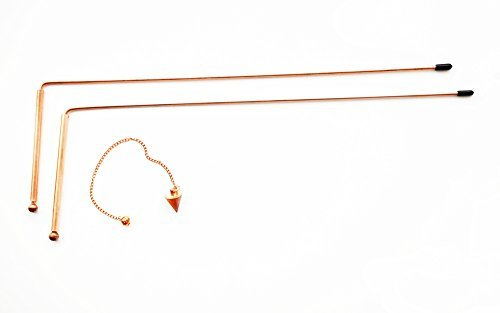 Dowsing Rod Copper -Solid Material 99% - Ghost Hunting