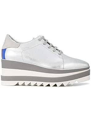 STELLA MCCARTNEY Luxury Fashion Womens 478958W1CW18523 Silver Sneakers | Fall Winter 19