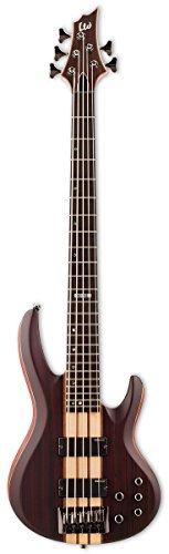 ESP LB5E NS LTD B-5E Bass Guitar, Natural Satin