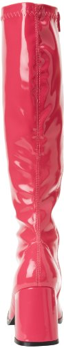 Funtasma von Pleaser Frauen Gogo-300 Boot Pinkes Patent