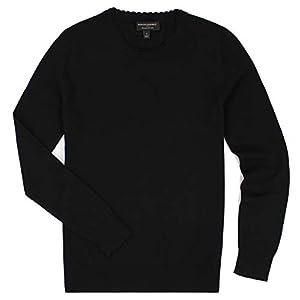 Banana Republic - Women's - Scalloped Neck Long Sleeved Sweater (Multiple Color Options (Medium, Double Scalloped- Black)