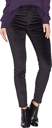 (HUDSON Women's Barbara High Waist Skinny Jeans, Granite, Grey, 27)