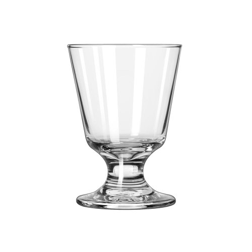 (Libbey 3747 Embassy 7 Ounce Footed Rocks Glass - 24 / CS)