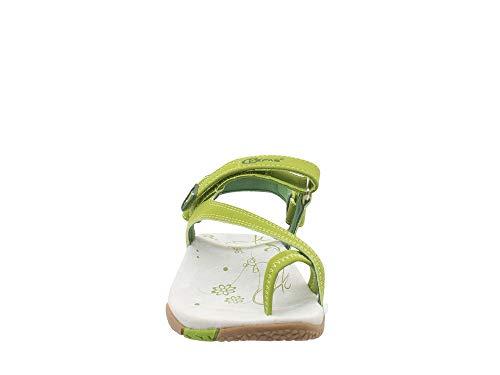 Sandalen Kefas Grün Kefas Damen Damen Sandalen Grün qawXRqU