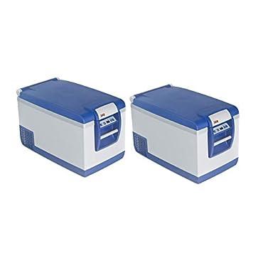ARB 10800602 Portable 63 Quart Car Tailgate Camping Travel Fridge Freezer, Blue