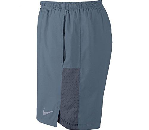 NIKE Challenger Men's 5'' Lined Running Shorts (X-Large, Gunsmoke/Reflective Silver) by Nike (Image #1)