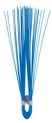 Presco W6OG 6'' Orage Glo PVC Marking Whisker, 6'' Height, 0.25'' Wide, 0.25'' Length