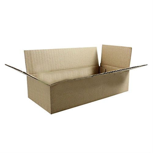 200 6x4x2 Cardboard Packing Mailing Moving Shipping Boxes Corrugated Box Cartons from Unknown