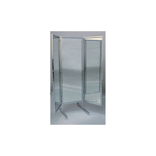 Chrome Stand 3 Way Mirror 18
