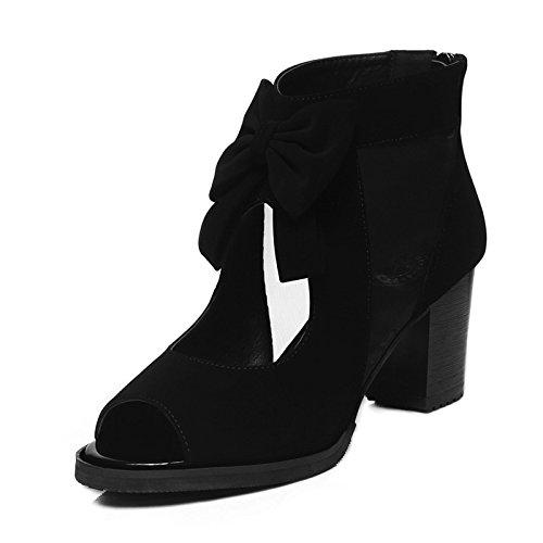 HUAIHAIZ damen plateau pumpsFisch Mund Sandalen Mädchen Sommer net Garn high-heel Schuhe Sommer Schuhe