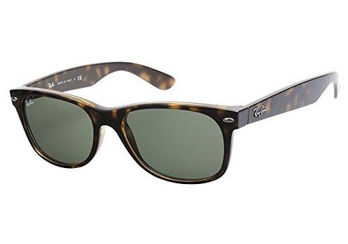 Ray Ban RB2132 902L 55 Tortoise New Wayfarer Sunglasses Bundle-2 - Rb2132 55 902 Wayfarer New