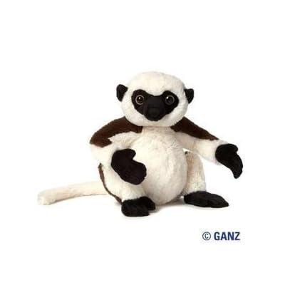 Webkinz Sifka Lemur Plush with Sealed Adoption Code: Toys & Games