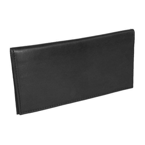 Unisex Soft Leather Wallet (Black) - 7