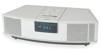 Bose Stereo >> Amazon Com Bose Wave Radio Clock Radio Platinum White Home