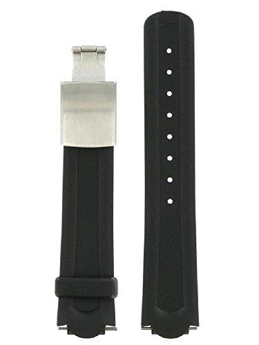 Wenger 20mm-Black Rubber Strap