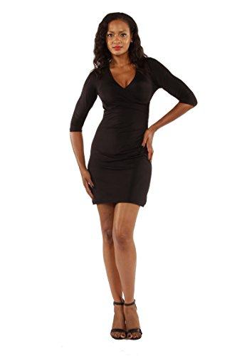 24/7 wrap dress - 5