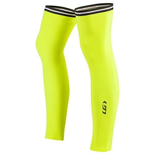 Louis Garneau Cycling Leg Warmers 2, Bright Yellow, Large