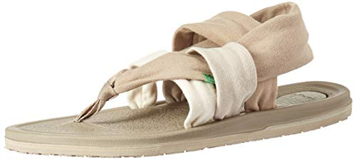 Sanuk Women's Yoga Sling 3 Sandal, Gradient Peyote/Turtledove, 07 M -