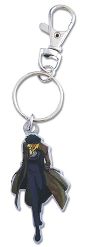Cowboy Bebop Spike Metal Keychain Key Chain, Multicolored
