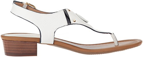Hilfiger navy Kissi Tommy Sandal Women''s White Heeled R6a6WTcq