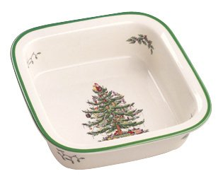 Amazon Com Spode Christmas Tree Oven To Table Bakeware
