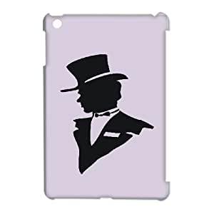 Gentleman Style Image On Back Phone Case For iPad Mini