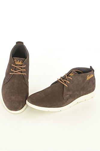 Redskins botas, calzado Hank Botas, color marrón