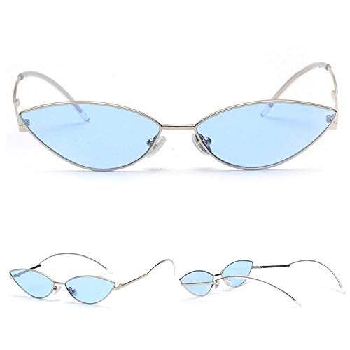 Metal Small Designer Glasses Box Cat Sunglasses Fashion Male Oval With Sexy Cuyag D Female Shadow wgtpq5