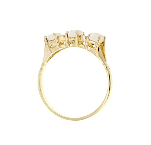Carissima Gold - Bague - Or jaune 9 cts - Diamant 0.02 cts - T54 - 1.48.6410