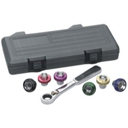 KD Tools (KDT3870) 7 Piece Magnetic Drain Plug Socket Set