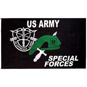 Flag Special Forces US Army Poly 3ft X 5ft