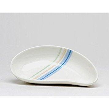 Noritake Java Blue Swirl 6-Inch Teardrop Dish
