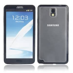 Elastic TPU + PC Protective Case for Samsung Note3 Black