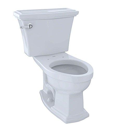 Clayton 1.6 GPF Elongated 2 Piece Toilet Toilet Finish: (Clayton Toilet Bowl)