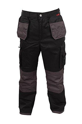 Blackrock Men's Grampian Regular Trouser - Black, 42 Inch