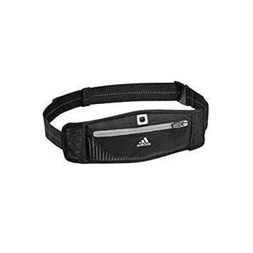 35cc4e5ba307 Adidas Sports Run Waist Bag - Black.  Amazon.co.uk  Sports   Outdoors