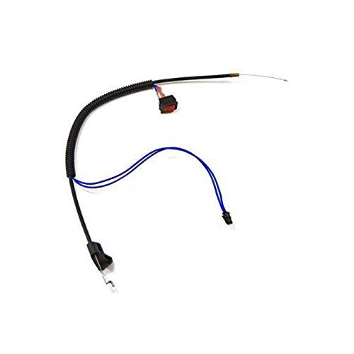 Husqvarna 576139401 Line Trimmer Throttle Cable Assembly Genuine Original Equipment Manufacturer (OEM) part for Husqvarna & (Control Cable Manufacturers)