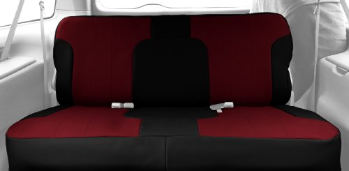 Caltrend Rear Row Solid Bench Custom Fit Seat Cover for S...