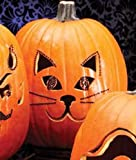 Two's Company Kitty Cat Pumpkin Carving Bling Decorating Kit NEW!
