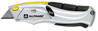 Alltrade Inc 150003 Auto-Loading Squeeze Utility Knife