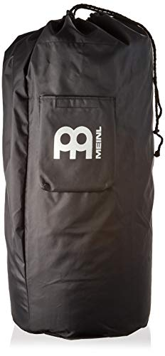 Meinl Percussion Bag-Standard Size for Most Djembes-Heavy Duty Nylon with Shoulder Strap and Outer Pocket, Black (MSTDJB)