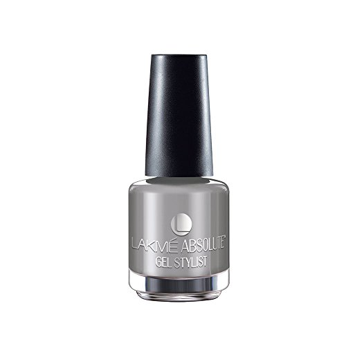 Lakme Absolute Gel Stylist Nail Color - Silver Glimmer - 15 ml